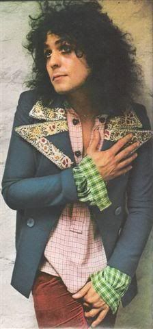 The gorgeous Marc Bolan.