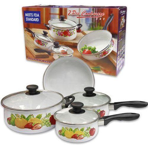 Tropical Fruit Cookware Set 7 Pieces Case Pack 2