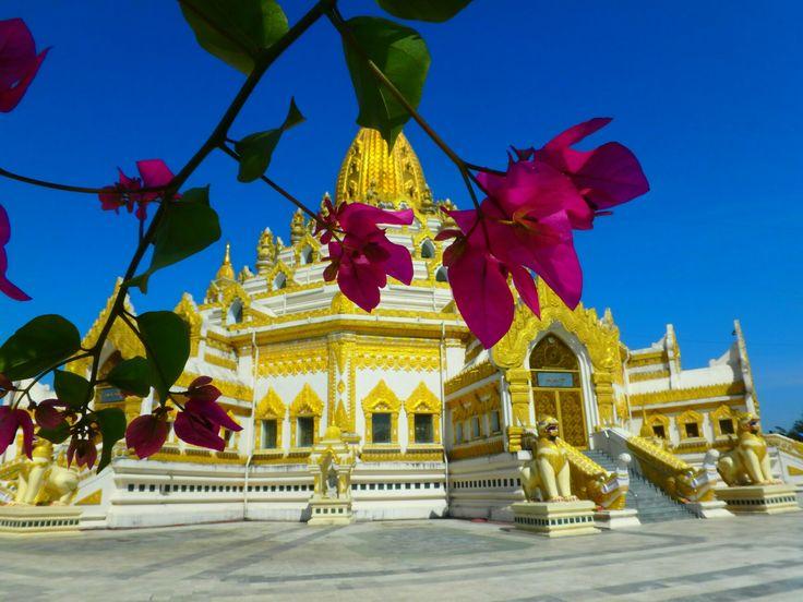 Swe Taw Myat Pagoda,Yangon, Myanmar