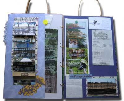25 best images about scrapbooking wine on pinterest napa for Waterfall design in scrapbook