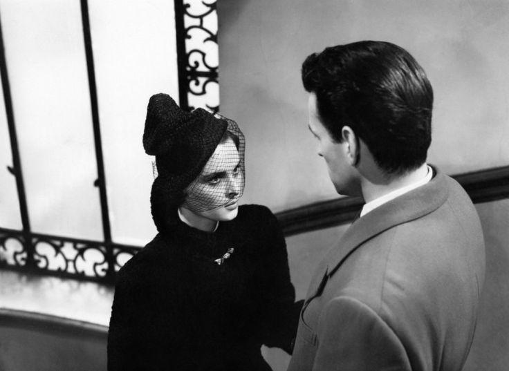 Lucia Bosè and Massimo Girotti in Cronaca di un amore directed by Michelangelo Antonioni, 1950