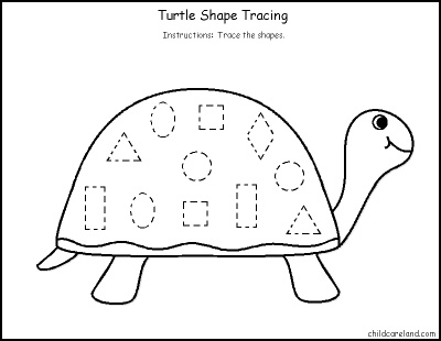 Number Names Worksheets tracing shapes for preschoolers : 1000+ images about tracing for little ones on Pinterest
