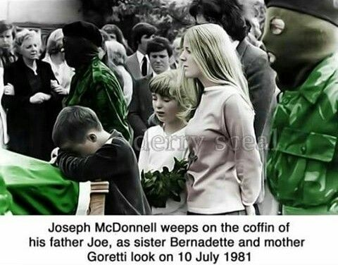 Funeral of IRA Volunteer Joe McDonnell
