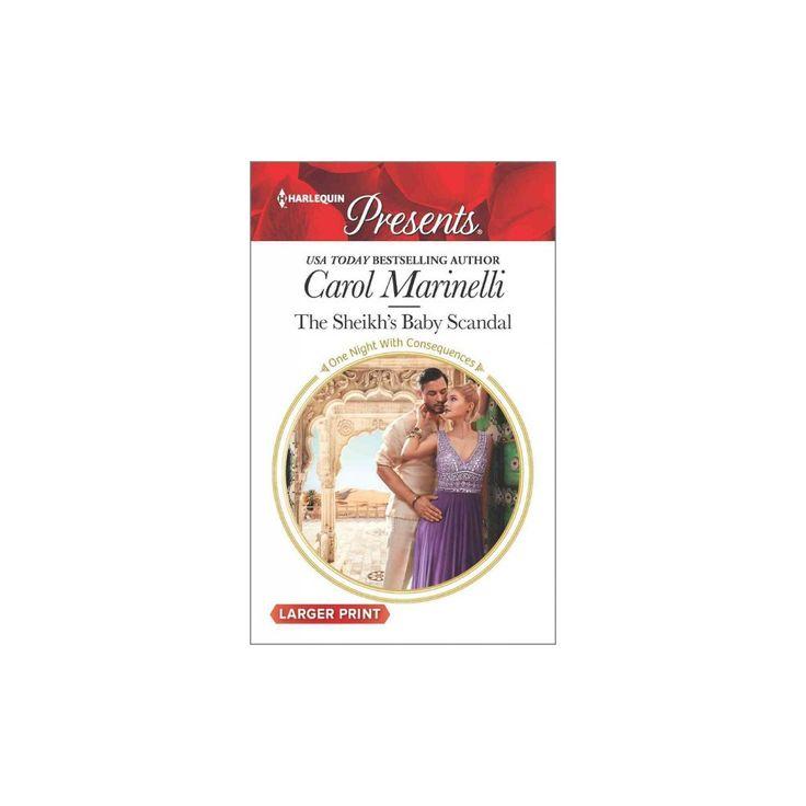 Sheikh's Baby Scandal (Paperback) (Carol Marinelli)