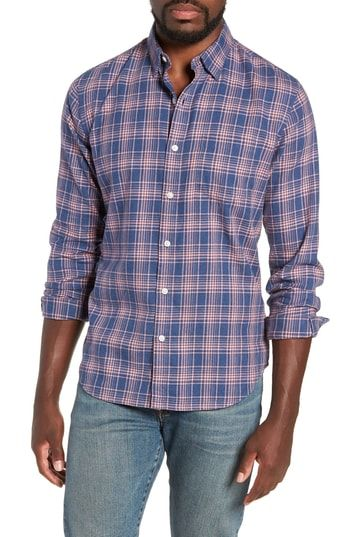a9fc116322 BONOBOS SLIM FIT PLAID BRUSHED TWILL SPORT SHIRT.  bonobos  cloth ...