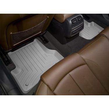 WeatherTech Custom Fit Rear FloorLiner for Toyota Prius, Grey - gray