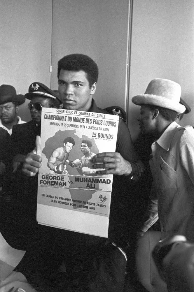 George Foreman-Muhammad Ali - Lourds (1974, Kinshasa)