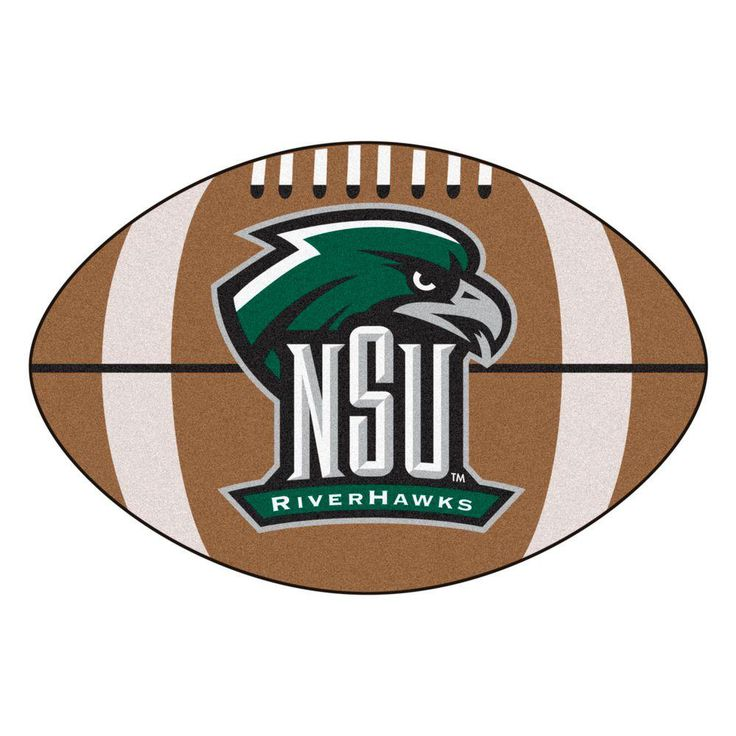 Ncaa Northeastern State University Brown 1 ft. 10 in. x 2 ft. 11 in. Specialty Accent Rug