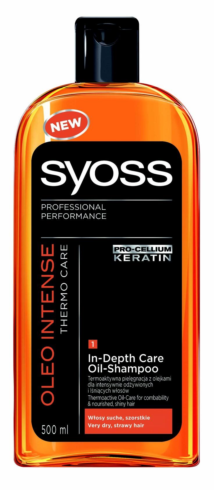 Syoss Oleo Intense szampon