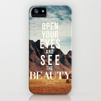 We all need this reminder every single day. Love. :: The Beauty iPhone & iPod Case by Zach Terrell