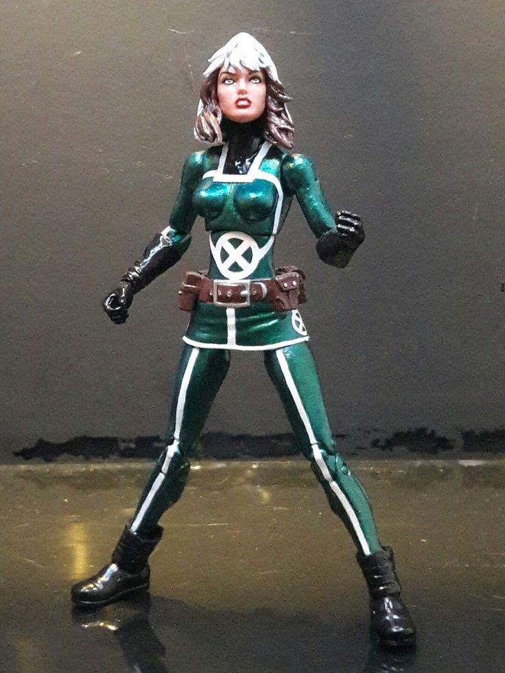 Marvel Legends custom Rogue Acton Figure X-MEN UNCANNY AVENGERS   eBay