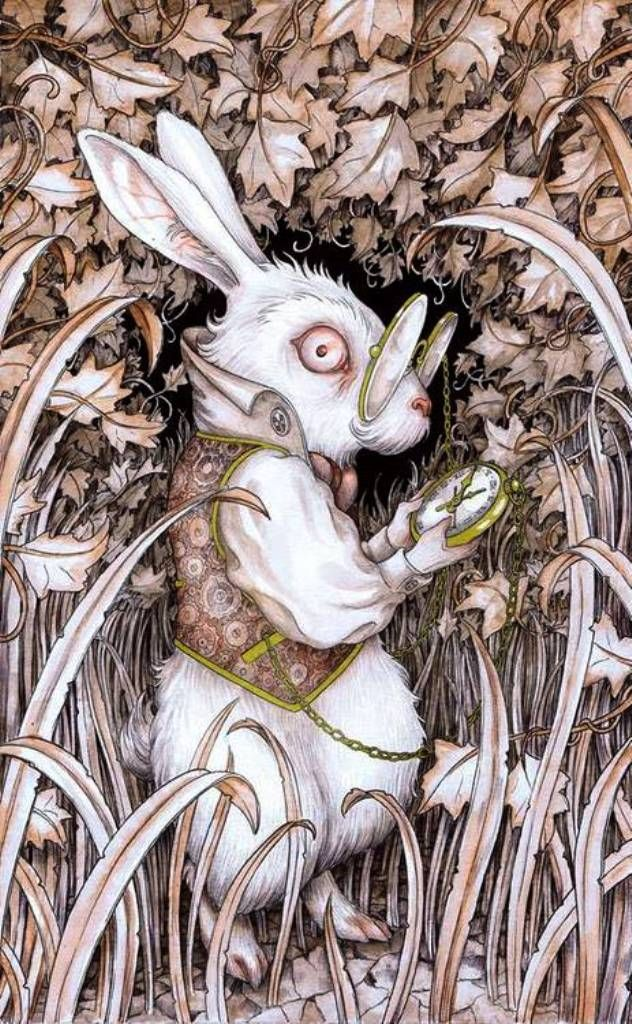 Adam Oehlers | ILLUSTRATION | Alice in Wonderland | The White Rabbit