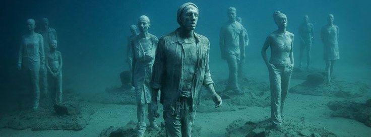 Underwater Sculptures Lanzarote Playa Blanca