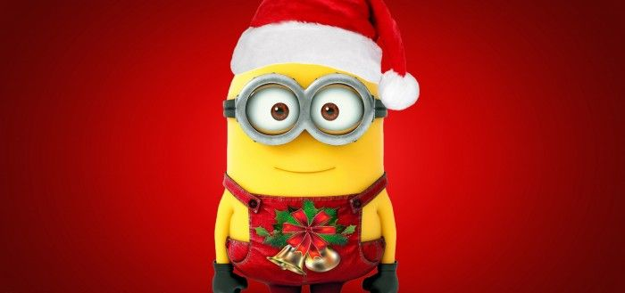 Merry Christmas Minions wallpaper