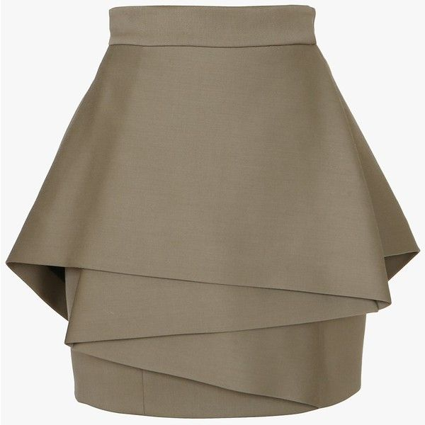 Balmain High-waisted mini-skirt and other apparel, accessories and trends. Browse and shop 8 related looks.