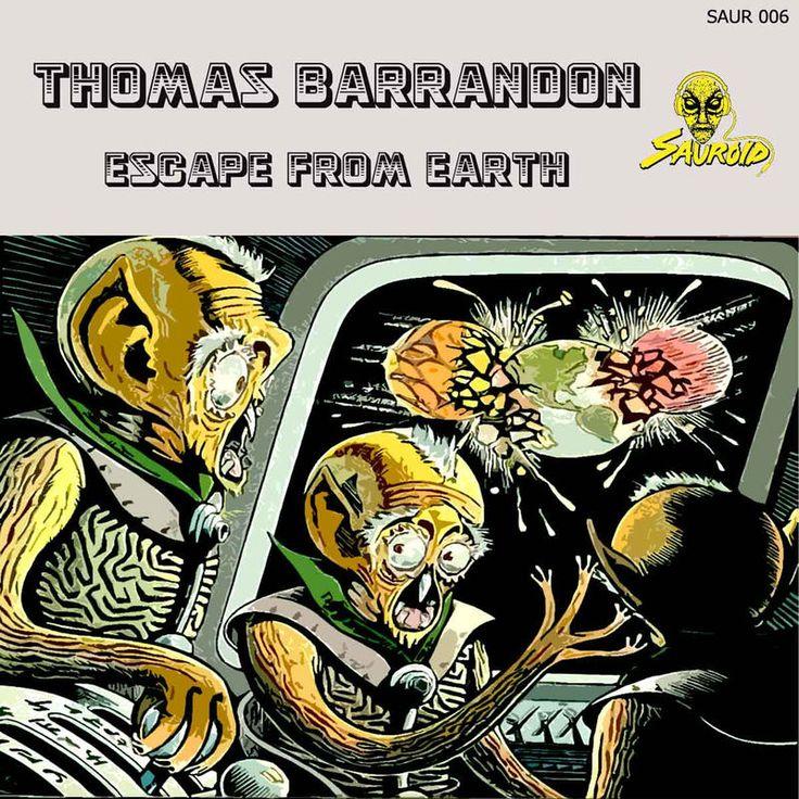 Escape From Earth by Thomas Barrandon