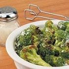 Grilled Broccoli.  I think kids will even like this!! You can find the recipe on Allrecipes.com.  I'll never boil broccoli again!  I tinkered with the recipe and made it Asian-style with ginger, red pepper, soy sauce, rice vinegar, olive oil and black pepper.  Yum!
