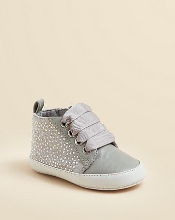 Stuart Weitzman Girls' Vance Crystal Sneakers - Baby | Bloomingdale's