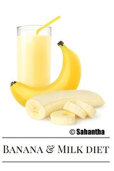 #Banana and #Milk Diet: Follow this magic #flatbelly diet plan for 4 days to lose 7 to 10 pounds naturally. Since, both the bananas and milk has enough calories and nutritional value, you'll not feel weak during this 4 day diet program.