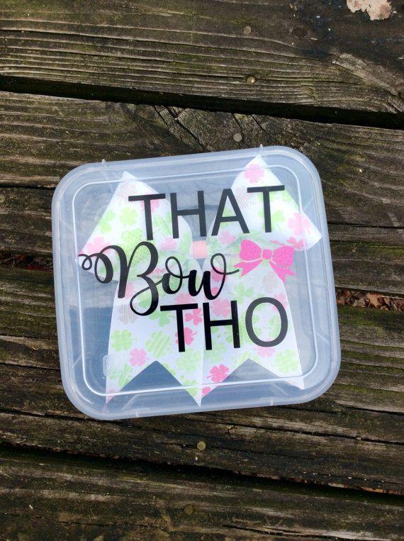 Cheer Bow Box//Bow box//cheer//cheerleading//birthday gift//team gift