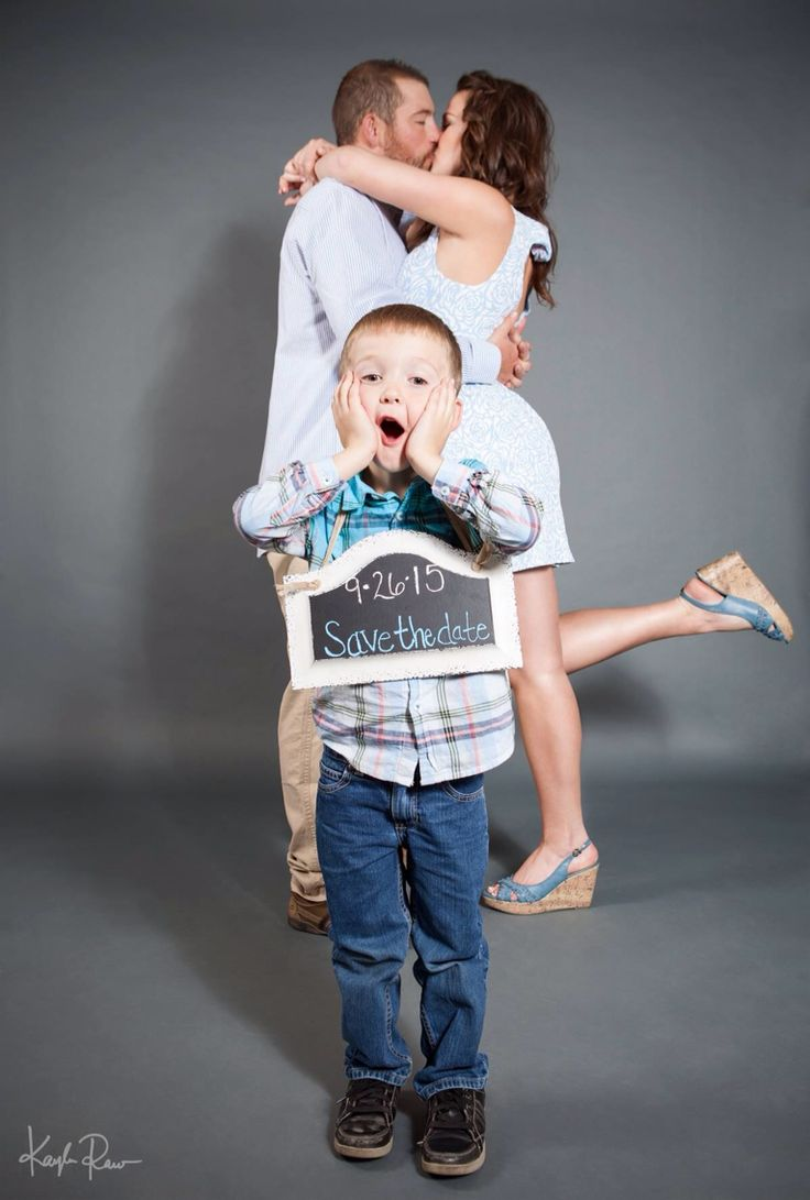 My engagement photo sesh/save the date with kids. Photo copyright: Kayla Raw Photography