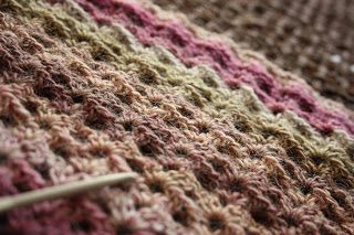 A needle and some thread: Frosty Heather Shawl (free pattern link in the blog post)