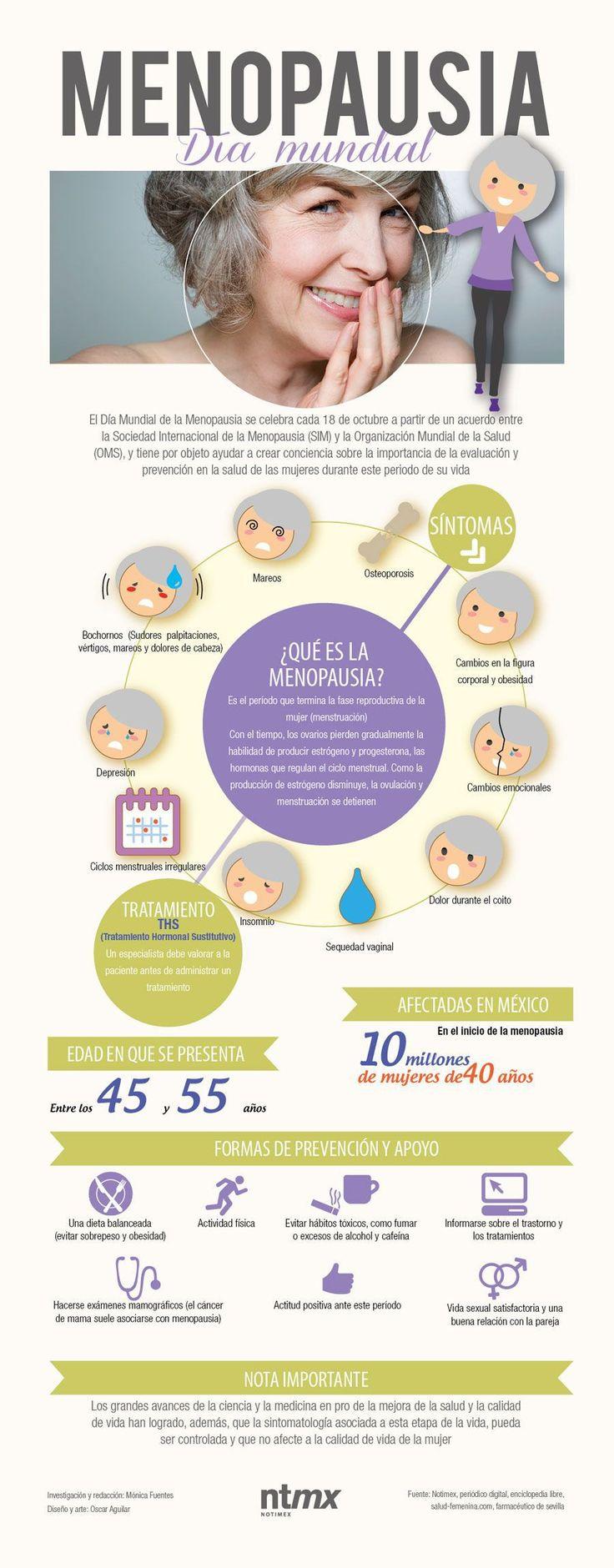 Consejos y alimentos para afrontar la menopausia