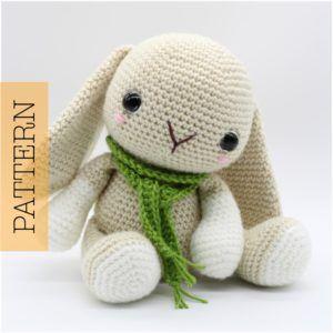 Crochet Amigurumi Woodland Baby Bunny