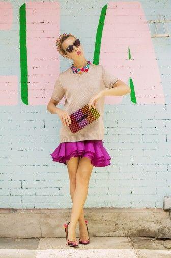 Buganvilla+rosa palo