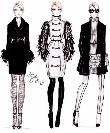 haydenwilliamsillustrations:  Hayden Williams Pre-Fall 2012 collection
