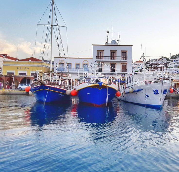 Discover the hidden gems of Greece in the clearest, blue waters of the Aegean!   It is totally worth it!   Photo by @alprakn #Celestyalcruises #Greece #greekislands #landscape #blue