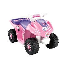"Power Wheels Fisher-Price 6 Volt Lil Quad Ride On - Minnie Mouse - Power Wheels - Toys ""R"" Us"