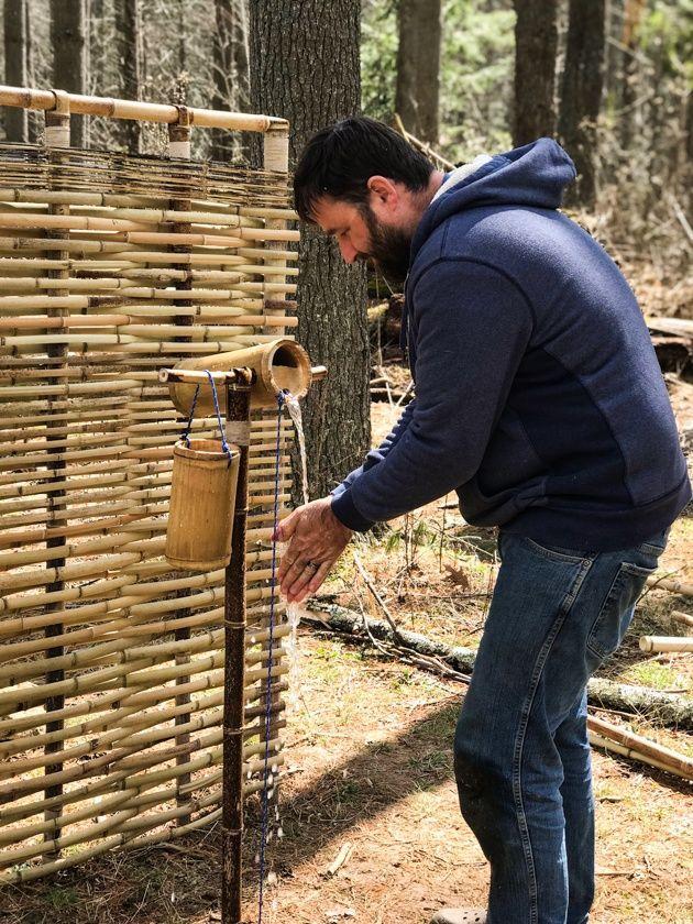 DIY Bamboo Screening - How to Make a Bamboo Screen | DIY