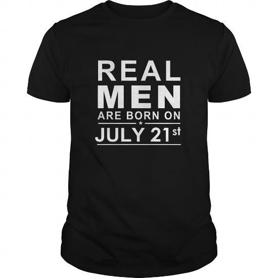 I Love 0721 July 21 Birthday Born Real Men Shirts Guys tee ladies tee youth Sweat Hoodie Vneck Tank top Tshirts for Girl and Men and Family Shirts & Tees