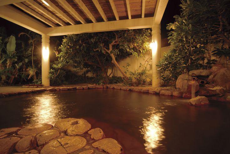 露天岩風呂が、心と身体をリフレッシュ。