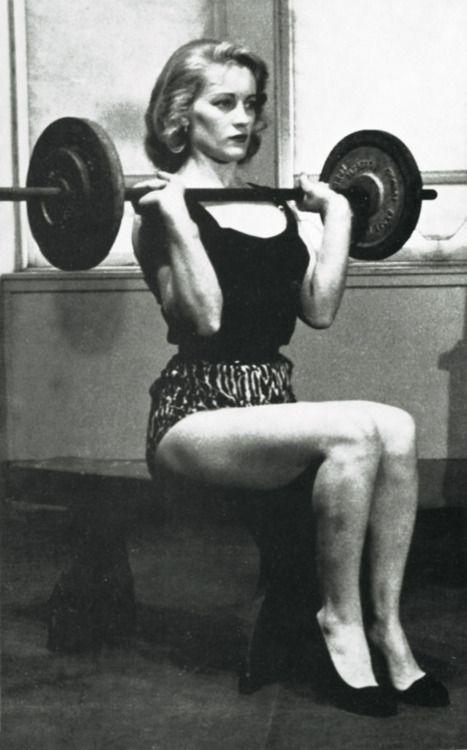 Vintage Female Bodybuilder
