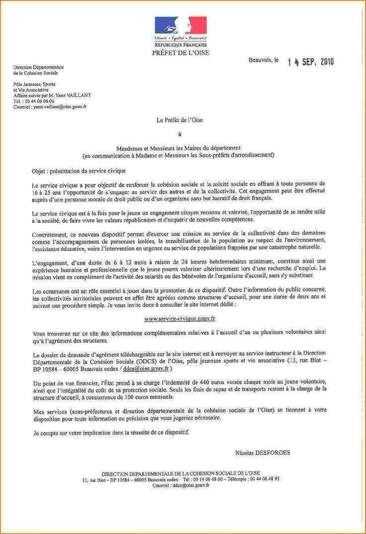 lettre administrative francais