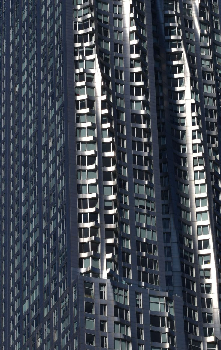 Manhattan by Gehry