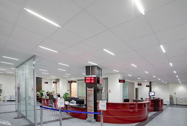 office commercial lighting ceiling grid - Google Search