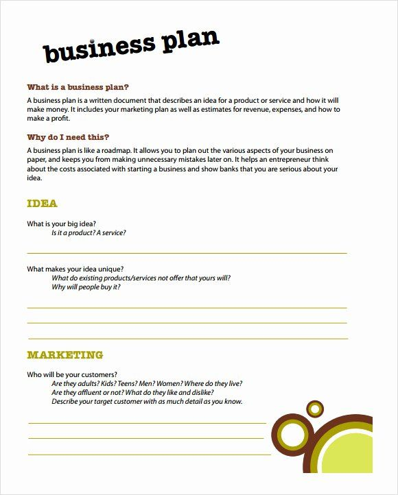 40 Simple Business Plan Outline Business Plan Outline Business