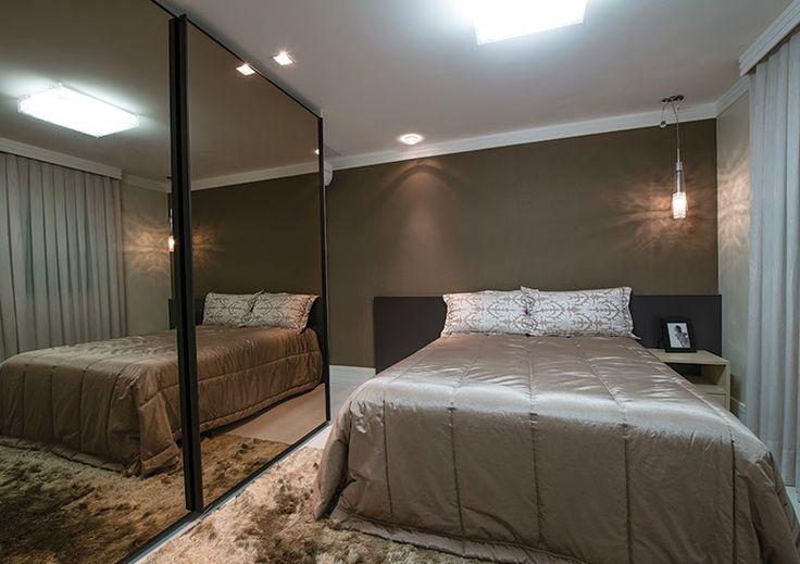 Decor Salteado - Blog de Decoração | Arquitetura | Construção | Paisagismo: Espelho bronze na decoração – veja ambientes lindos com essa tendência!