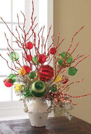 31 Best Christmas Centerpieces Images On Pinterest