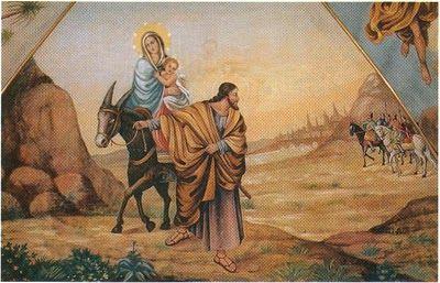 Huida de Egipto Jesús de Nazaret