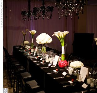 Oh how I love draping & chandeliers