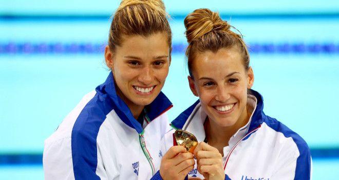 Tania Cagnotto e Francesca Dallapè: argento nei tuffi in sincro da 3 m