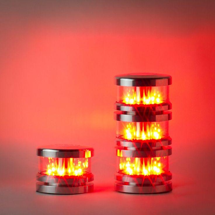 La MR presenta le nuove lampade di segnalazione ostacoli al volo, Tarcento, 2015 - BAGLEM® LIGHT LED