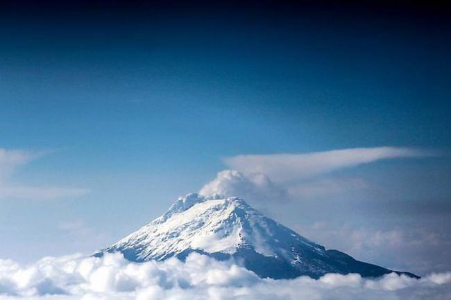 Hay emisión de ceniza en el Volcán Nevado del Ruiz