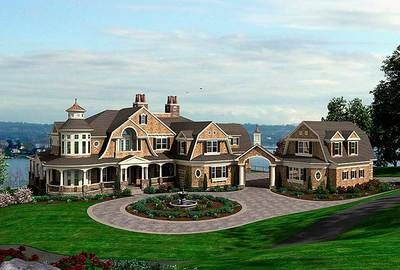 Plan 23413JD: Spectacular Shingle Style House Plan