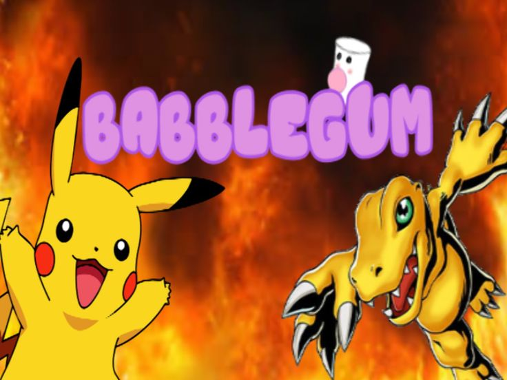 """Babblegum"" Episode 7: Pokemon VS Digimon"