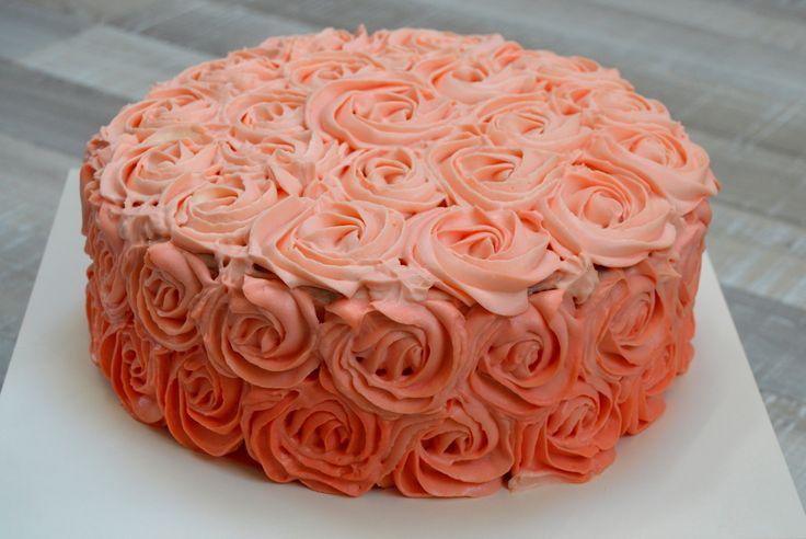 cake roses